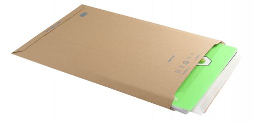 Blake Purely Packaging Corrugated Pocket P&S 490x330mm Kraft Ref PCE70 [Pk100] *10 Day Leadtime*
