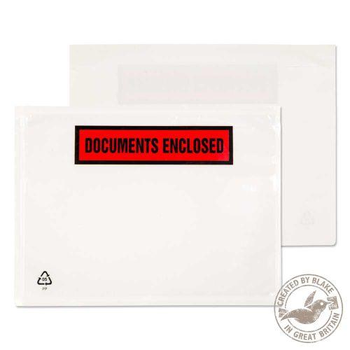 Blake Purely Packaging Clear Peel & Seal Wallet 168X126mm 50Mu Pack 1000 Code Pde22/100 Pr 3P