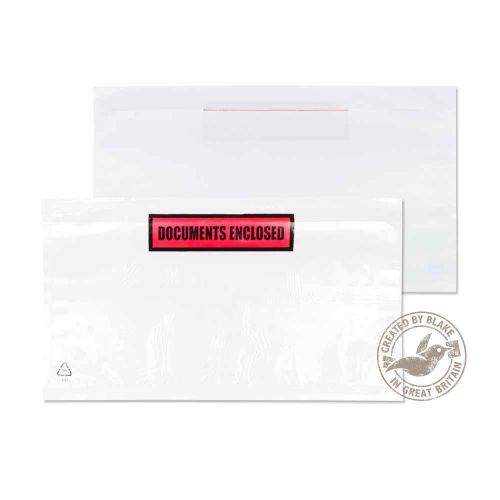 Blake Purely Packaging Clear Peel & Seal Wallet 235X132mm Pack 1000 Code Pde32/100 Pr 3P