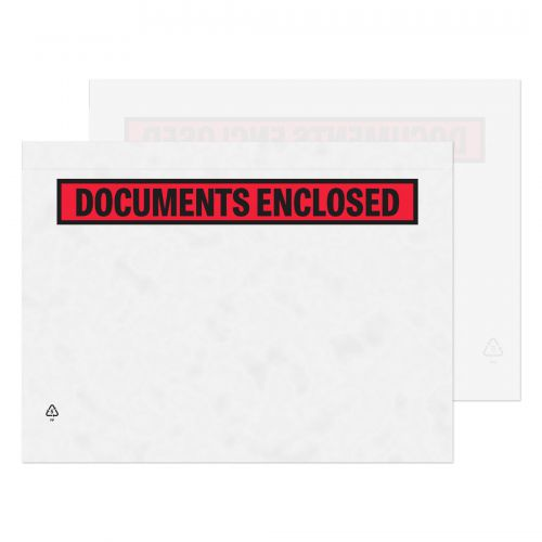 Blake Purely Packaging Clear - Printed Peel & Seal Wallet 328X245mm 30Mu Pack 500 Code Pde52 3P