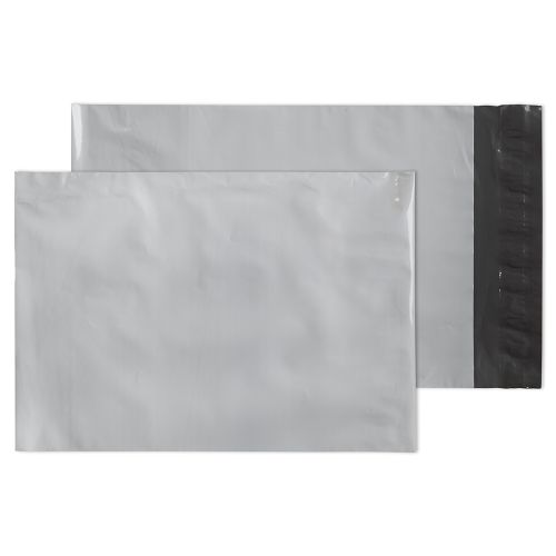 Purely Packaging Polypost Pocket Peel and Seal White C5+ 238x165mm PK100