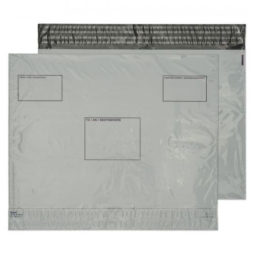 Blake Purely Packaging White Peel & Seal Polythene Wallet 395X400mm 50Mu Pack 500 Code Pe83/W 3P