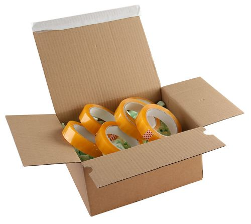 Blake Purely Packaging Kraft Peel & Seal Postal Box 230X160X80mm 131 Pack 20 Code Peb30 3P