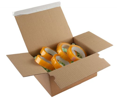 Blake Purely Packaging Kraft Peel & Seal Postal Box 310X230X160mm 131 Pack 20 Code Peb42 3P