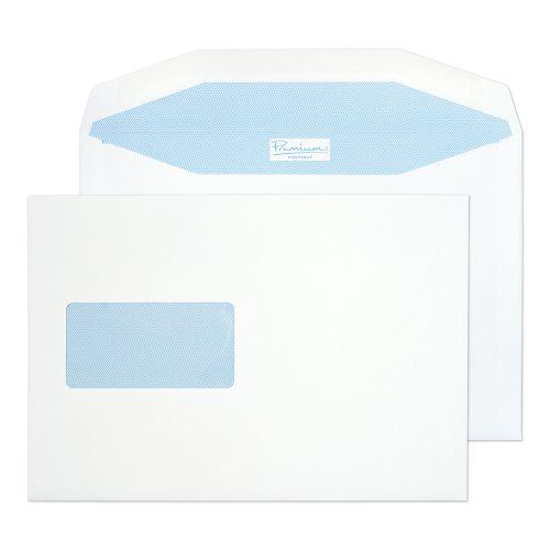 Blake Premium Postfast White Window Gummed Mailer 162x235mm 90gsm Pack 500 Code PF748DG