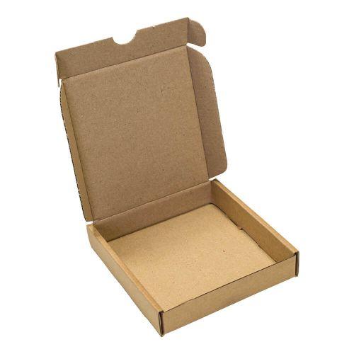 Blake Purely Packaging KRAFT Peel and Seal Postal Box 102x110mm Pack 25 Code PIPBX01