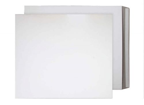 Blake Purely Packaging White Board Peel & Seal All Board Pocket 525x460mm 350gsm Pack 100 Code PPA19