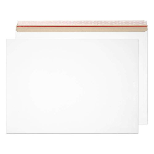 Blake Purely Packaging White Board Hot Melt Peel & Seal All Board Pocket 444x625mm 350gsm Pack 50 Code PPA20-RS