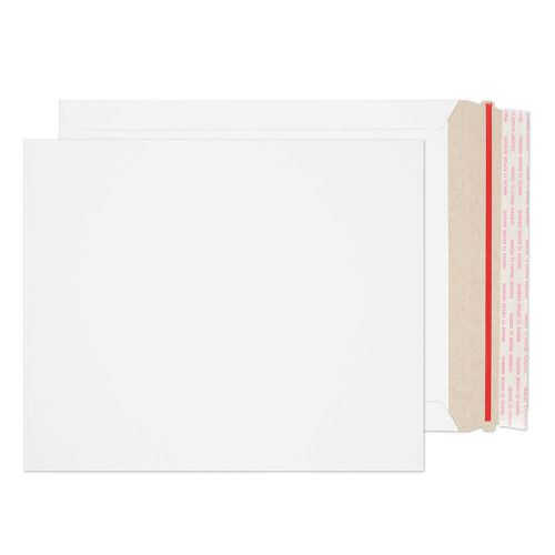 Blake Purely Packaging White Board Hot Melt Peel & Seal All Board Pocket 273x222mm 350gsm Pack 100 Code PPA23-RS