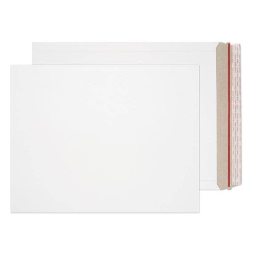 Blake Purely Packaging White Board Hot Melt Peel & Seal All Board Pocket 406x318mm 350gsm Pack 100 Code PPA28-RS