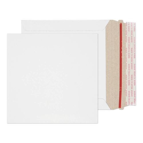 Blake Purely Packaging White Board Hot Melt Peel & Seal All Board Pocket 164x164mm 350gsm Pack 200 Code PPA2-RS