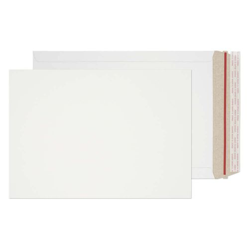 Blake Purely Packaging White Board Peel & Seal All Board Pocket 241X178mm 350G Pk200 Code Ppa8-Rs 3P