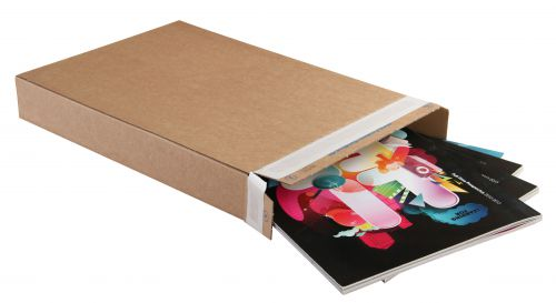 Blake Purely Packaging Kraft Peel & Seal Carton Box 165X16X240mm 120 Pack 25 Code Ppb20 3P