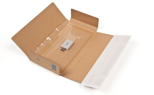 Blake Purely Packaging SSPostal Box P&S Tamper Evident 235x122x20mm Ref PSB10 [Pk20]*10 Day Leadtime*