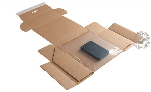 Blake Purely Packaging Kraft Peel & Seal Postal Box 300X190X40mm 150 Pack 20 Code Psb500 3P