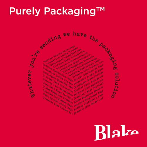 Blake Purely Packaging Jet Black Peel & Seal Pocket 90x145mm 70Mu Pack 100 Code MTB90