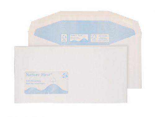 Blake Purely Environmental White Window Gummed Mailer 114X235mm 90Gm2 Pack 1000 Code Rn0016 3P