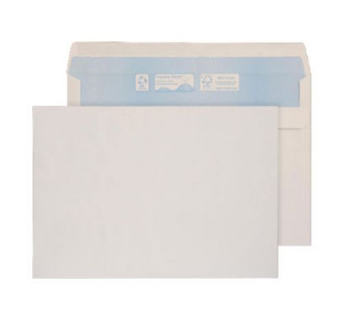Blake Purely Environmental Wallet Envelope C5 Self Seal Plain 90gsm White (Pack 500)