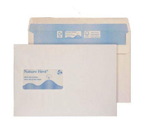 Blake Purely Environmental White Window Self Seal Wallet 162X229mm 90Gm2 Pack 500 Code Rn028 3P