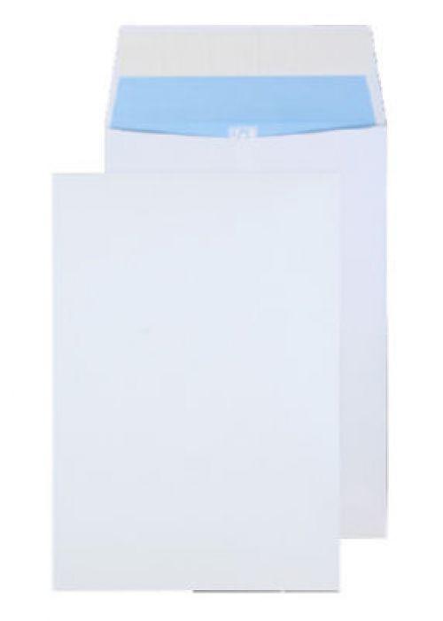 Blake Purely Environmental White Peel & Seal Gusset Pocket 324X229X25mm 140G Pk125 Code Rn090 3P