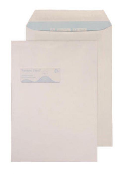Purely Environmental Pocket Self Seal High Wndw White 100gsm C4 Ref RN17892 Pk250 *10 Day Leadtime*