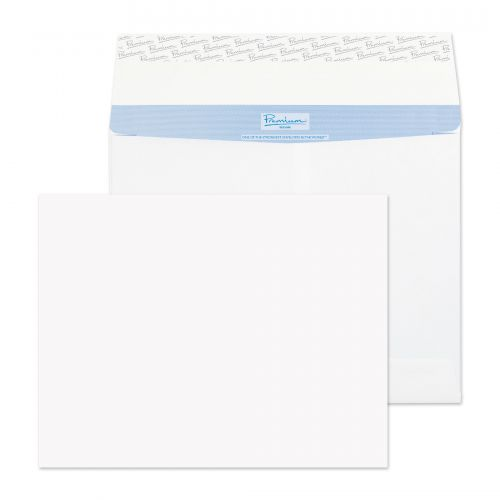 Blake Premium Secure Gusset P&S White C4 229x324x50mm 125gsm Ref TR7700 Pk 100 *10 Day Leadtime*