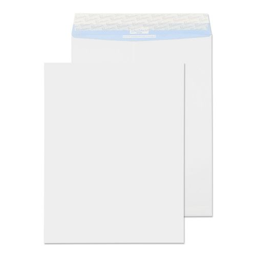 Blake Premium Secure White Peel & Seal Tear Resistant Pocket 394X305mm 125G Pk100 Code Tr77160 3P