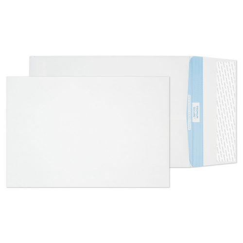Blake Premium Secure White Peel & Seal Tear Resistant Gusset 324x229mm 125gsm Pack 100 Code TR9900