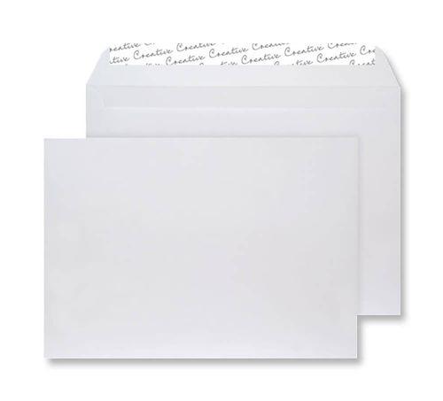 Blake Creative Senses White Velvet Peel & Seal Wal let 229X324mm 140Gm2 Pack 125 Code V741 3P