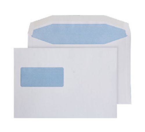 Purely Everyday Mailer Gummed High Window White 90gsm C5+ 162x238 Ref W154 Pk 500 *10 Day Leadtime*