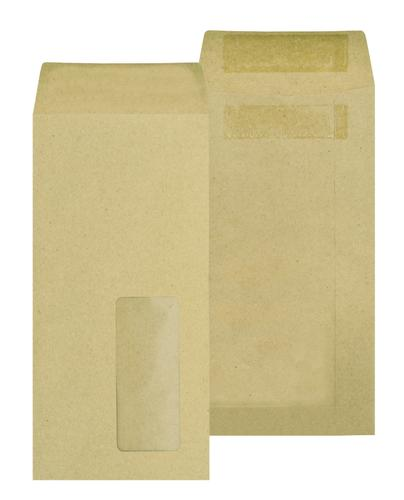 New Guardian Pocket Envelope DL Self Seal Window 80gsm Manilla (Pack 1000)