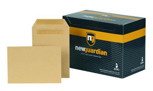New Guardian Pocket Envelope C5 Self Seal Plain 130gsm Manilla (Pack 250)