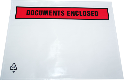 Masterline Self Adhesive Document Enclosed Envelope A4/C4 318x235mm Pack 500