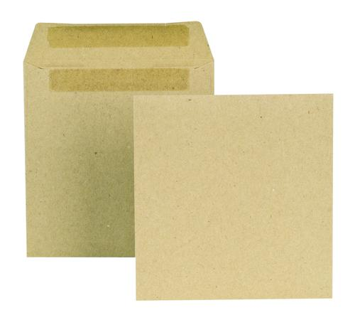 New Guardian Wage Envelope 108x102mm Self Seal Plain 80gsm Manilla (Pack 1000)