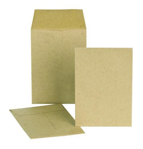 New Guardian Pocket Envelope 98x67mm Gummed Plain 80gsm Manilla (Pack 2000)