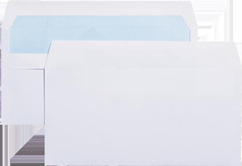 Blue Label Wallet Envelope DL Self Seal Plain 90gsm White (Pack 1000)
