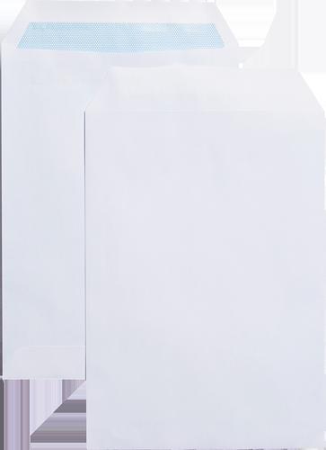 Blue Label Pocket Envelope C5 Self Seal Plain 90gsm White (Pack 500)
