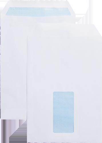 Blue Label Pocket Envelope C5 Self Seal Window 90gsm White (Pack 500)