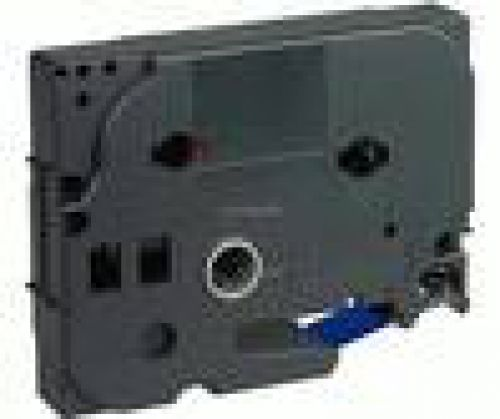 Brother TZE345 White On Black Label Tape 18mmx8m