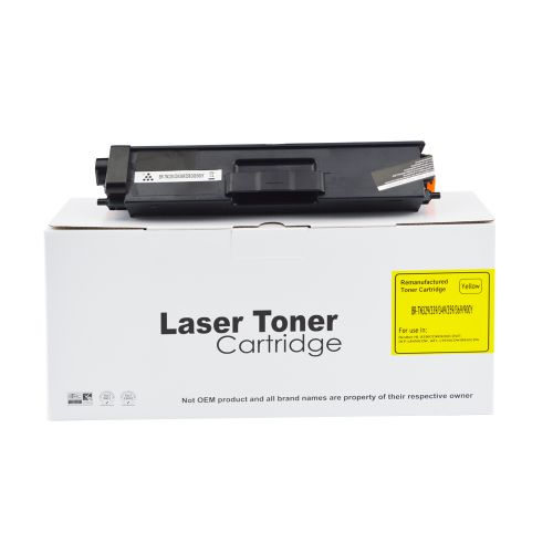 Remanufactured Brother TN329Y Yellow Extra Hi Cap also for TN900Y Toner