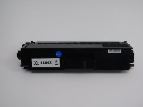 Compatible Brother TN329C Cyan Extra Hi Cap also for TN900C Toner