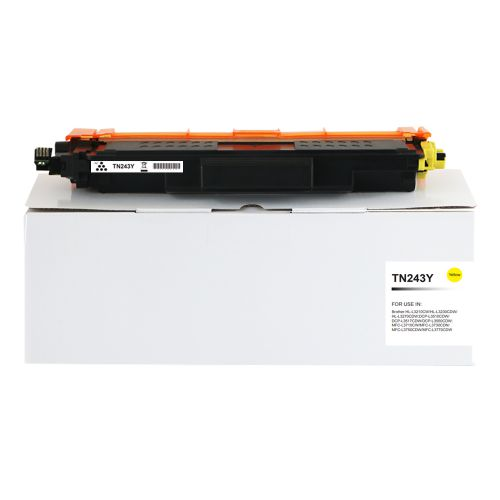 Compatible Brother TN243Y Yellow Toner