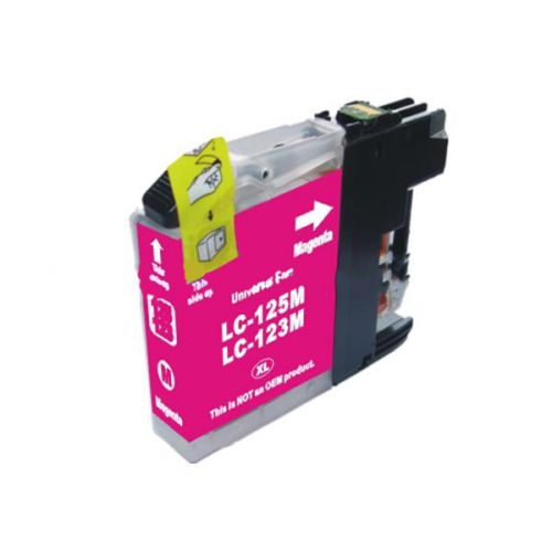 Alpa-Cartridge Comp Brother LC123M Magenta Stdi Cap Ink Ctg [LC123M ]