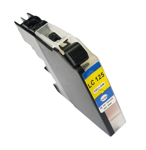 Compatible Brother LC125Y Yellow Hi Cap Inkjet