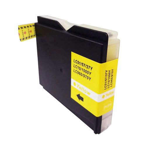 Compatible Brother LC1000Y Yellow also for LC960Y LC970Y Inkjet