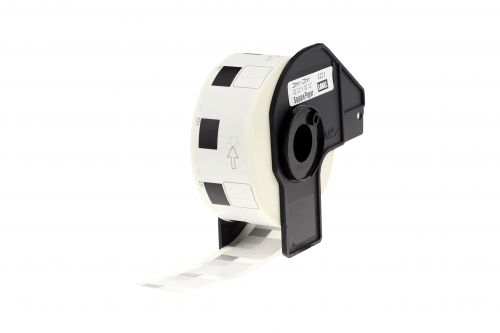 Alpa-Cartridge Comp Brother DK-11221 Square White Paper Labels Roll of 1000