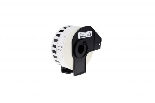 Compatible Brother DK22210 Continuous Length Paper White Tape Roll
