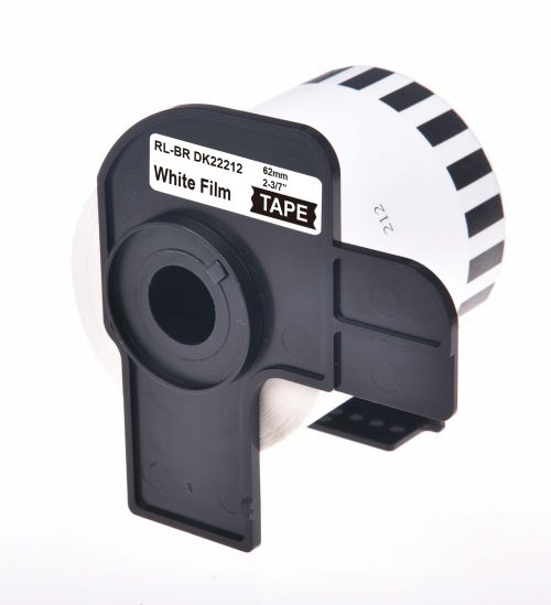 Compatible Brother DK22212 Continuous Length Paper Film Tape Roll
