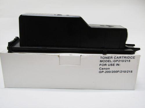 Compatible Canon TGP215B GP210 Black Toner