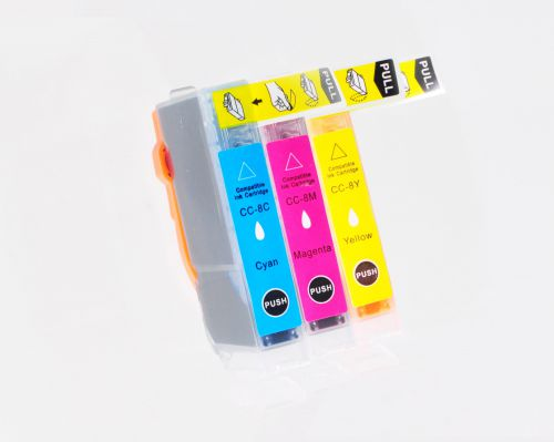 Compatible Canon CLI-8CMY 3 Pack 0621B026 Inkjet